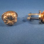 Expanded hollow point cuff links