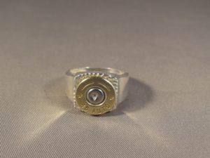 Men's ..45 ACP Bullet Ring