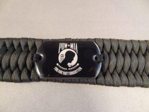 POW Paracord Bracelet