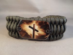Paracord Bracelet Christian Cross