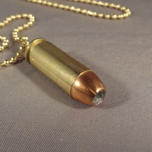 10 mm Cartridge -Brass Case & Hollow Point Bullet