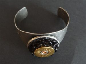 12 Gauge Bracelet With Chain