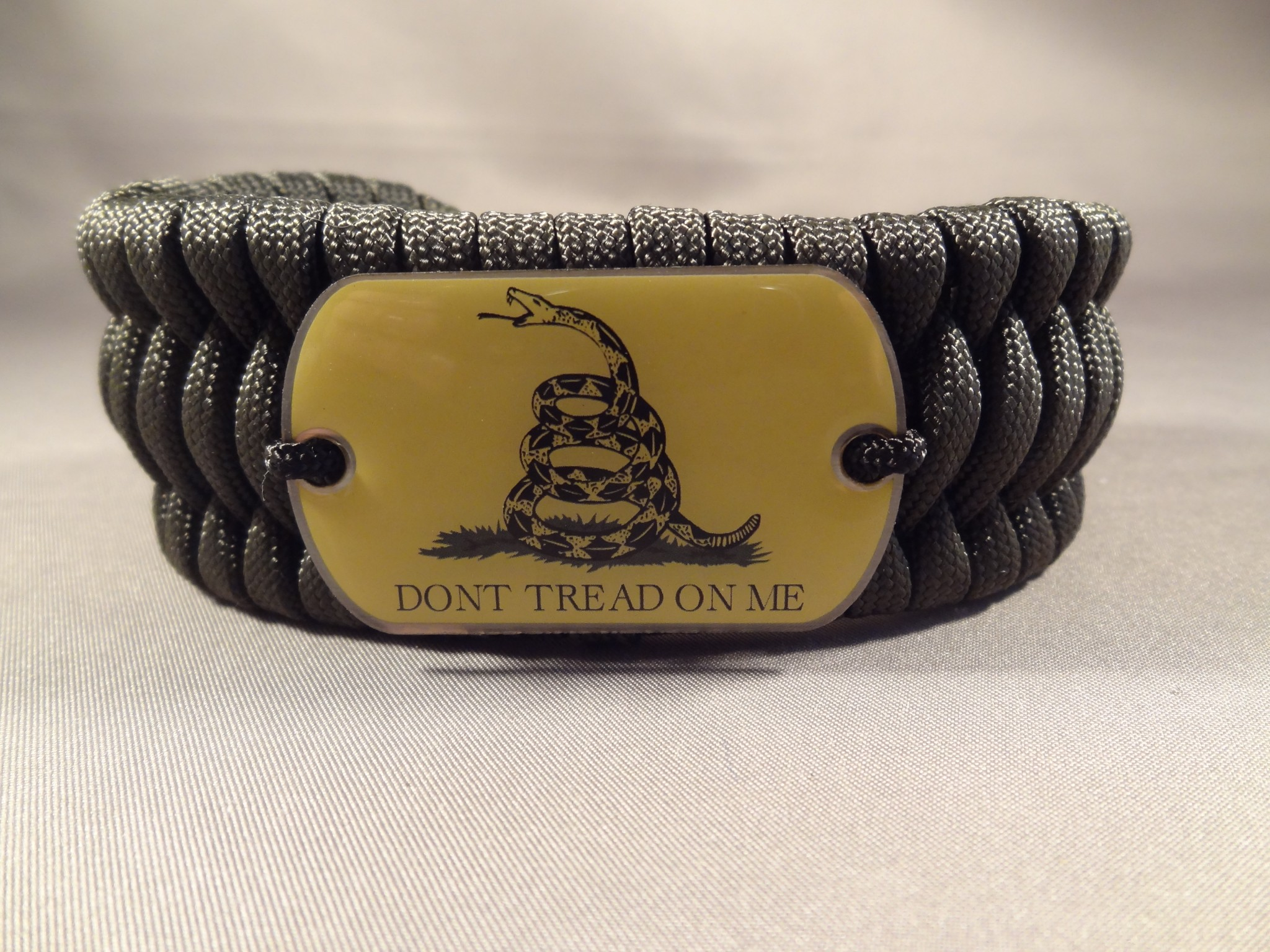 """Don't Tread On Me"" Bracelet"