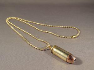 .40 Caliber Brass Hollow Point Cartridge