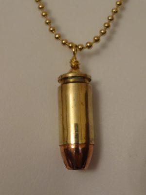 .40 Caliber Brass Case & Hollow Point Cartridge