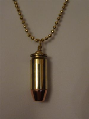 .40 Caliber Cartridge with Brass Case & FMJ Bullet