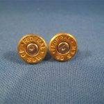 .40 Caliber Case Head Earrings