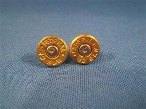 .40 Caliber Case Head Earrings