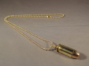 .45 ACP Brass Case with FMJ Bullet