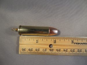.50 Caliber Cartridge -Brass Hollow Point