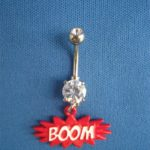 Belly Button Ring-Boom