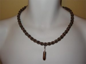 Paracord Necklace with 9 mm