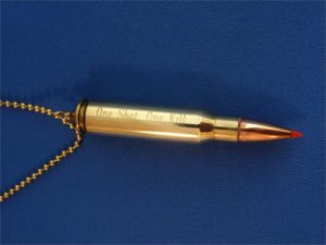 """One Shot, One Kill"" .308 Cartridge"