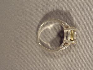 Sterling Silver 9 mm Ring