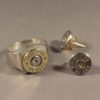 .45 Case Head RIng & .40 Earrings