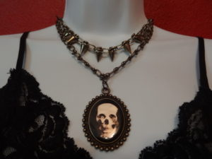 """The Tessa"" Skull Pendant"