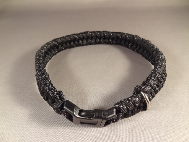 Fishtail Paracord Dog Collar