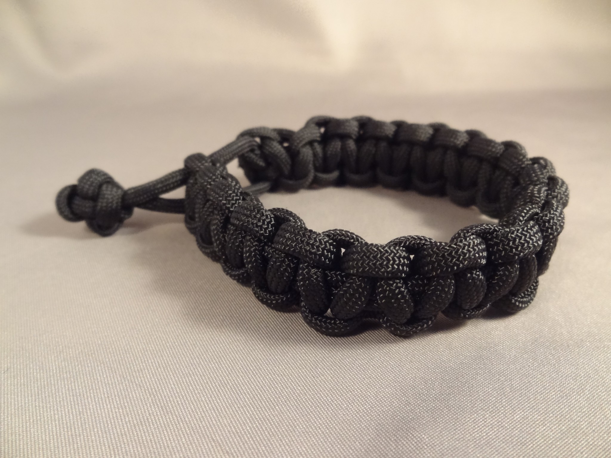 Mad Max Style Adjustable Paracord Bracelet-Choose Color & Size