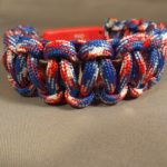 LED Bracelet - Red,White & Blue