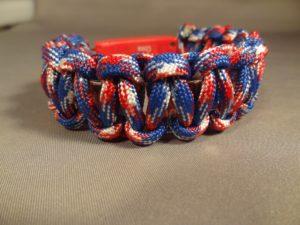 LED Bracelet - Red,White & Blue