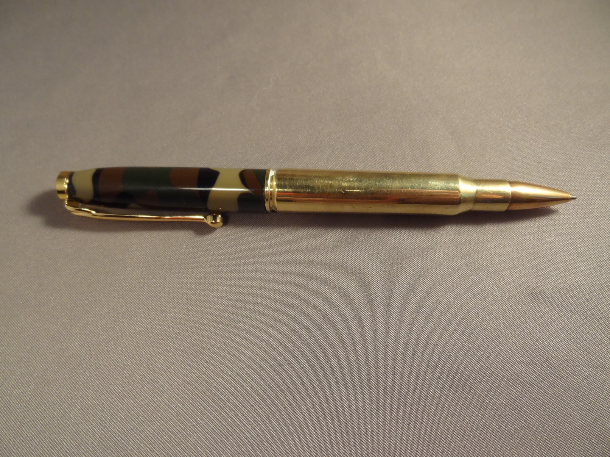 Bullet Pen 30-06 with Camo Swirl