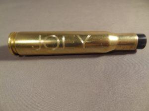 Sample of Engraving-.50 Cal BMG Flashlight