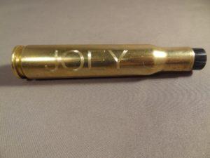 Sample of Engraving-.50 Cal BMG Flashlight