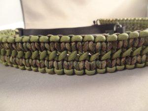 Custom Gun Slings -Green/Camo-Pattern Two