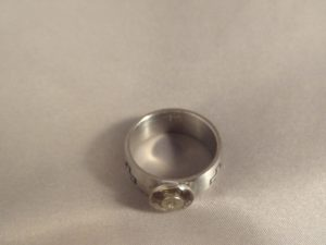 Case Head Ring with Crosses