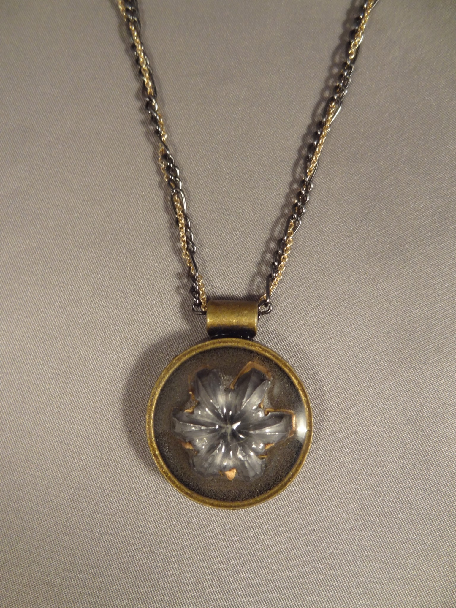 Expanded Hollow Point Pendant – .20 Caliber Bullet in Round Base ...