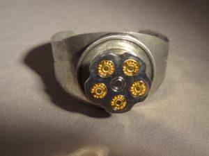 Spinning Chamber Bracelet-Silver