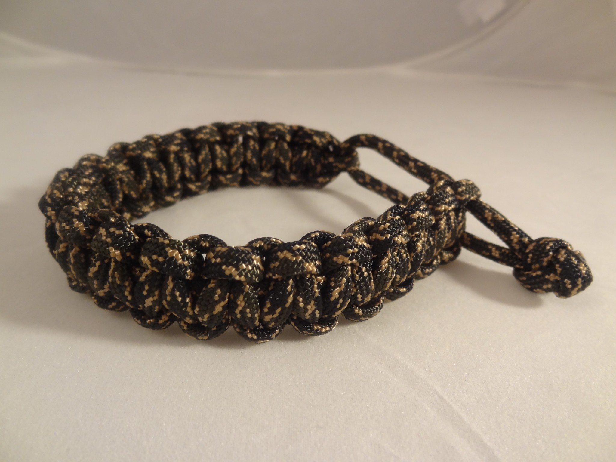 Mad Max Style Adjustable Paracord Bracelet