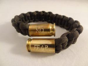 No Fear bracelet