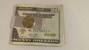 .50 Caliber Money Clip-Money Not Included