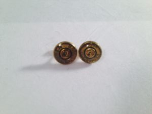 9mm Case Head Earrings