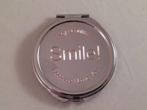 Engraved Mirror Compact