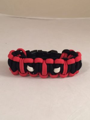 Deadpool Inspired Paracord Bracelet