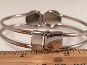 45 ACP Hinged Bangle Bracelet