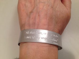 Mother's Bracelet-A. Lincoln Quote