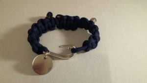 Adjustable Bracelet with Fish Hook