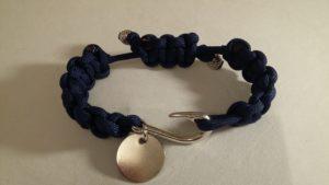 Adjustable Bracelet with Fish Hook