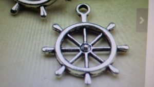 Boat Steering Wheel Charm